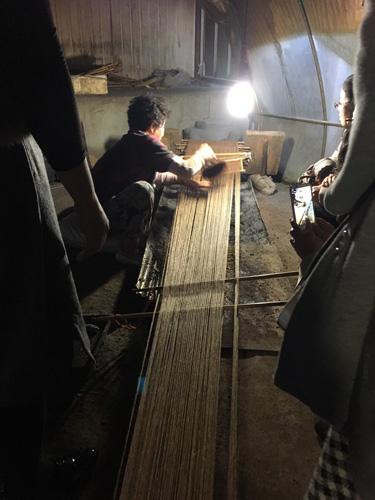 ポジャギ作家 李京玉と巡る韓国 (尚州・慶州・安東)2日目③_c0185092_1059998.jpg