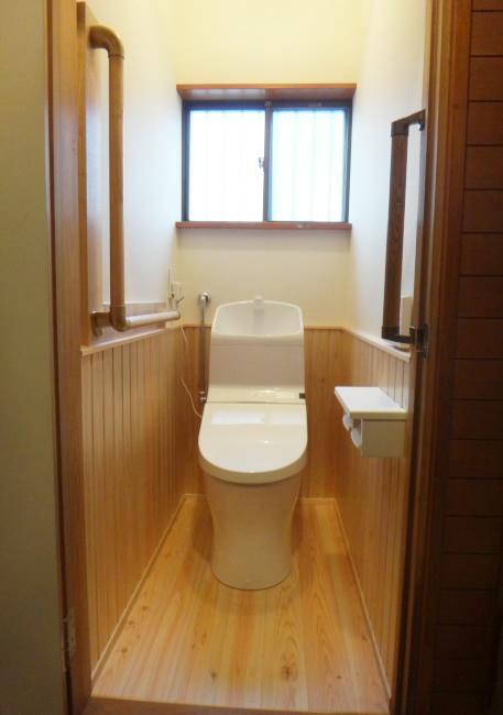 M様邸トイレ改装工事_c0184295_15343695.jpg