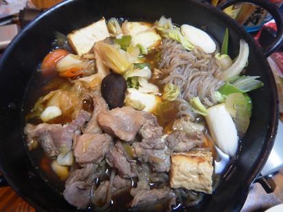 猪のスキヤキ_e0077899_72353.jpg