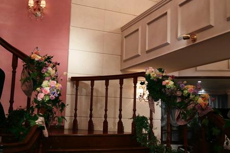 秋の装花 HANZOYA様へ、二人が過ごした7年の季節を、花で_a0042928_14455762.jpg
