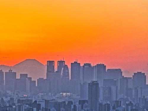 2016.11.22文京シビックセンターからの夕景・夜景_e0321032_23444234.jpg