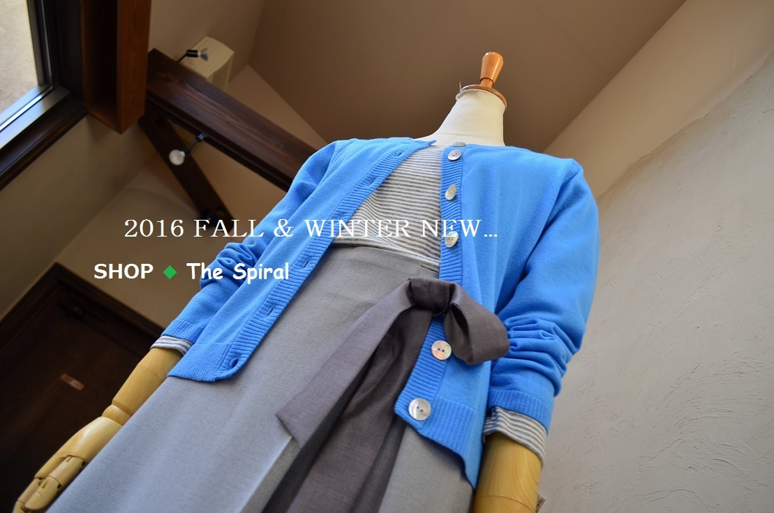 """New Arrival!!・・・2016 Fall & Winter...11/23wed\""_d0153941_16065758.jpg"