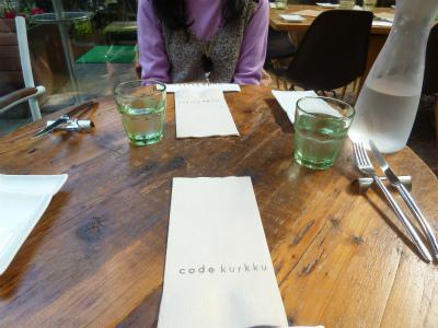happy lunch 緑に囲まれた異空間で♪_a0165160_11350259.jpg