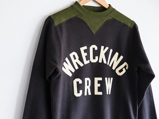 WRECKING CREW SWEAT & FLEECE BOA HALF ZIP_d0160378_15163673.jpg