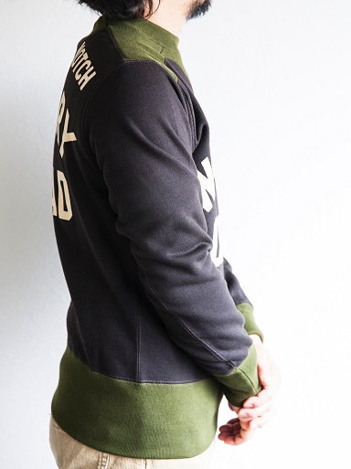 WRECKING CREW SWEAT & FLEECE BOA HALF ZIP_d0160378_20551628.jpg