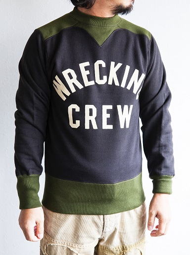 WRECKING CREW SWEAT & FLEECE BOA HALF ZIP_d0160378_2055991.jpg