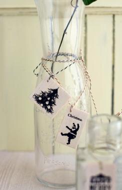 ガラス瓶もクリスマス♪_d0167088_23334621.jpg