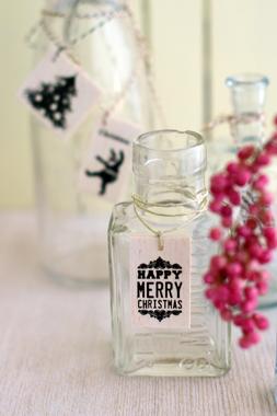 ガラス瓶もクリスマス♪_d0167088_2334297.jpg