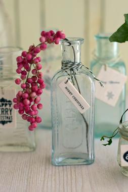 ガラス瓶もクリスマス♪_d0167088_23402078.jpg