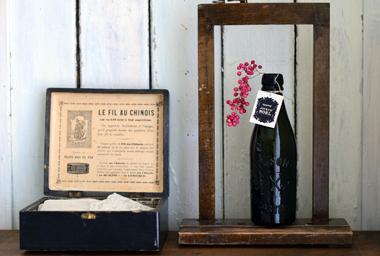 ガラス瓶もクリスマス♪_d0167088_23454139.jpg