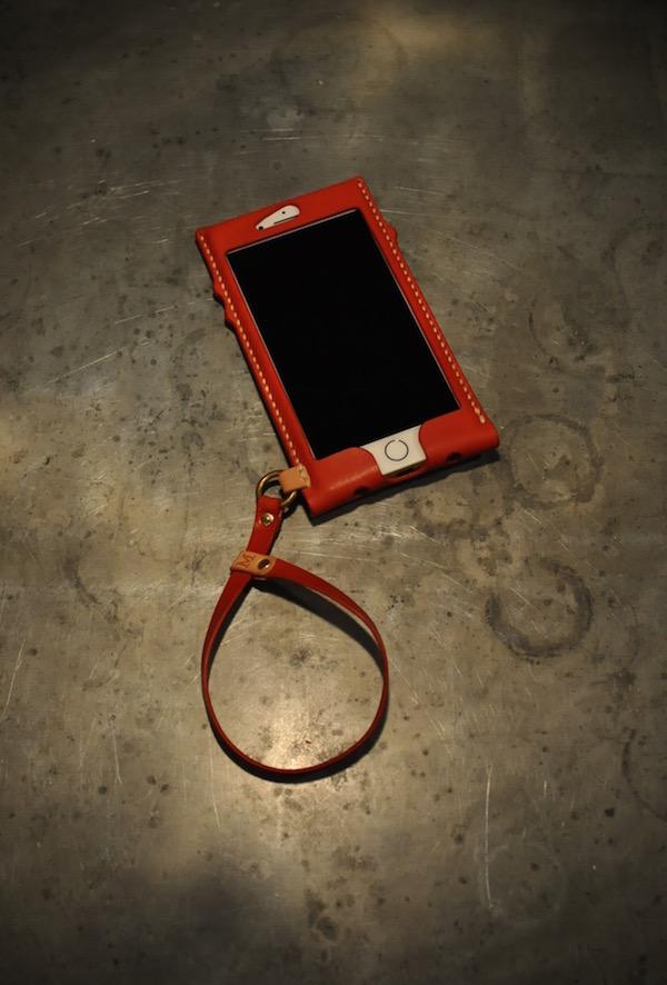 iphone 7 plus leatehr case +hand strap_b0172633_22211279.jpg