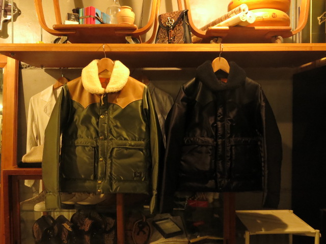 """Rocky Mountain Featherbed × PORTER CHRITY JACKET OLIVE,BLACK #FAIR\""ってこんなこと。_c0140560_7591325.jpg"