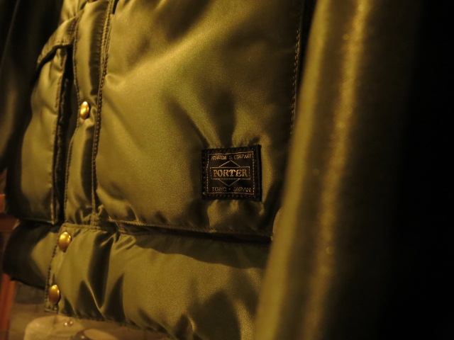"""Rocky Mountain Featherbed × PORTER CHRITY JACKET OLIVE,BLACK #FAIR\""ってこんなこと。_c0140560_801776.jpg"