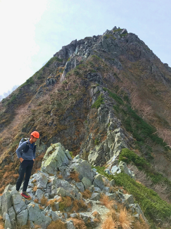 北穂高岳東稜&前穂高岳北尾根 Alpine Scrambling at Kitahodakadake and Maehotakadake 2016/10/12-13_b0220886_021746.jpg