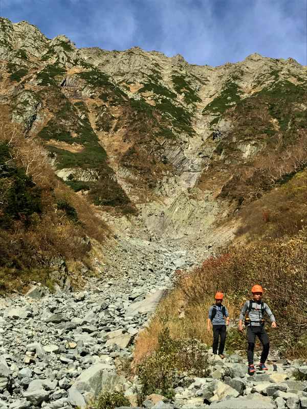 北穂高岳東稜&前穂高岳北尾根 Alpine Scrambling at Kitahodakadake and Maehotakadake 2016/10/12-13_b0220886_0523211.jpg