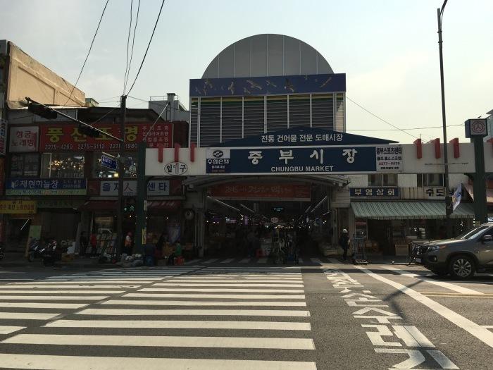 ソウルから大邱へ。最終回 ソウルの中部市場と里門ソルロンタン_a0223786_15201658.jpg