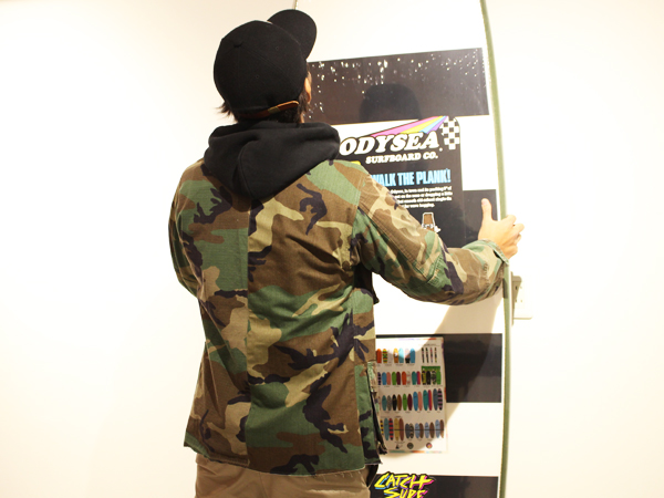 【RECOMMEND】 STANDARD CALIFORNIA - ANDEM × SD Fatigue Jacket_a0076701_160499.jpg