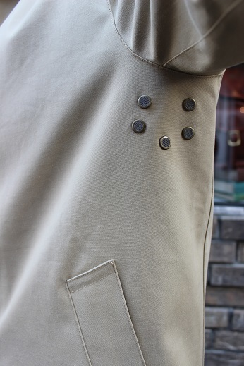 "Mackintosh by Francis Campelli ltd ""SINGLE BREASTED COAT\"" ご紹介_f0191324_08291017.jpg"