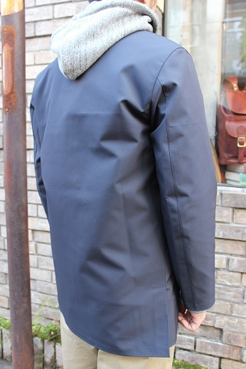 "Mackintosh by Francis Campelli ltd ""SINGLE BREASTED COAT\"" ご紹介_f0191324_08295054.jpg"