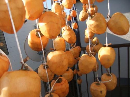 ビッグな渋柿で...干し柿作り_b0137932_15031313.jpg