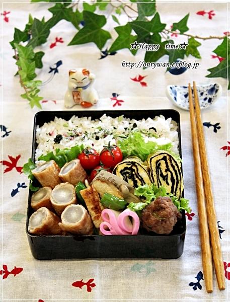 ごぼうの肉巻き弁当とバゲット作りと牡蠣フライ♪_f0348032_18022516.jpg