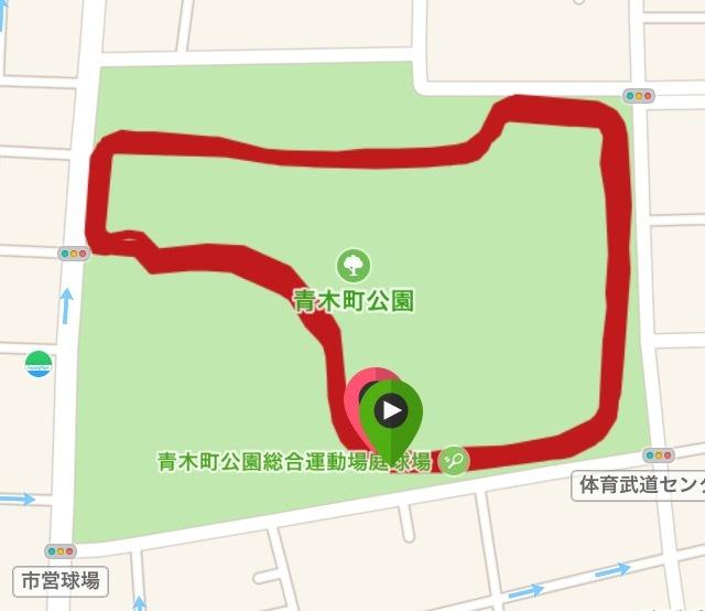青木町公園を短パンのオッサンがペース走!_f0310282_18440590.png