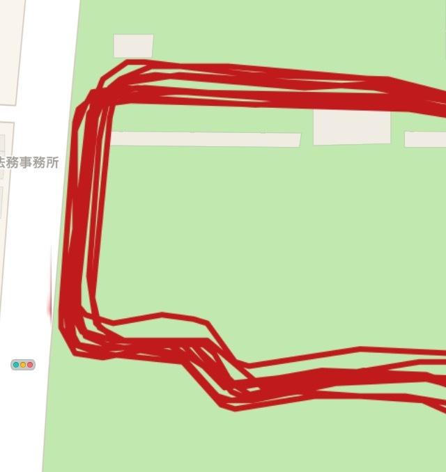 青木町公園を短パンのオッサンがペース走!_f0310282_18444918.png