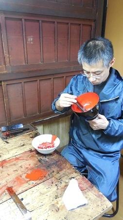 仏教行事に使う器の修理 その3 2016.11.26_c0213599_01313139.jpg