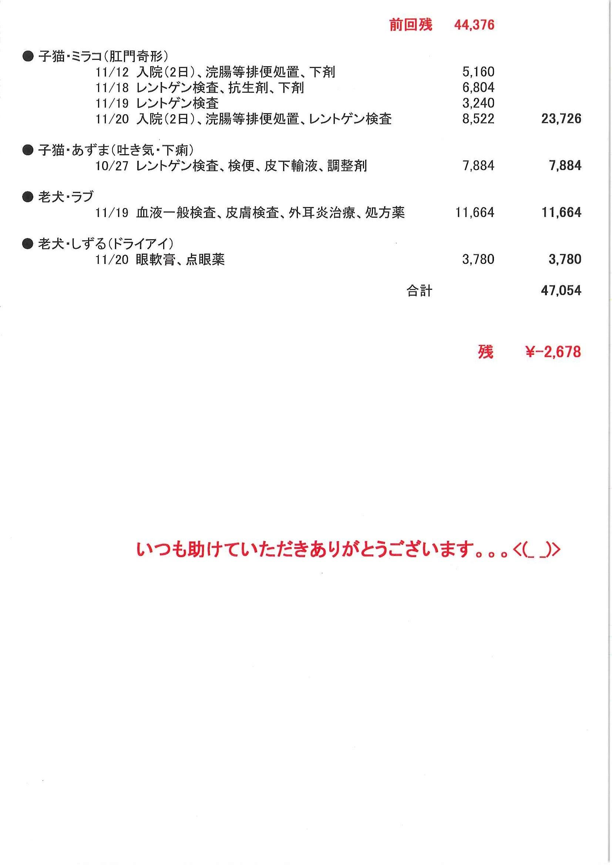 医療費支出のご報告 (2016.11)_f0242002_01015204.jpg