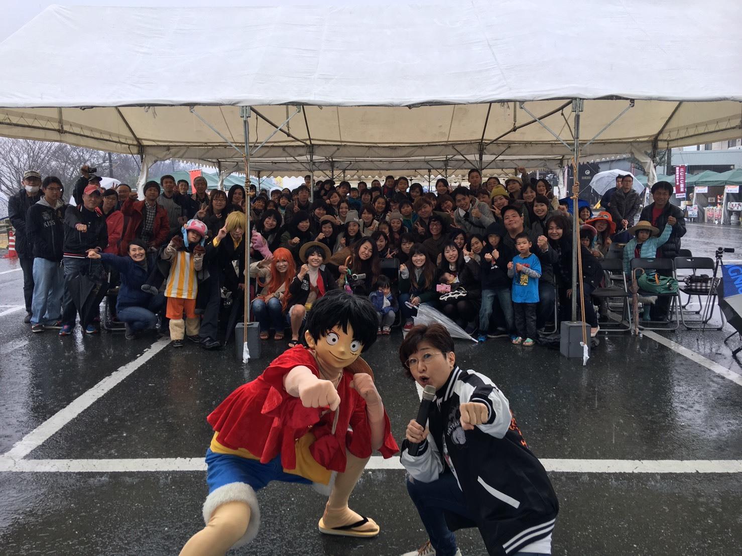 南阿蘇鉄道「ワンピースラッピング列車」出発セレモニー_a0163623_23143018.jpg
