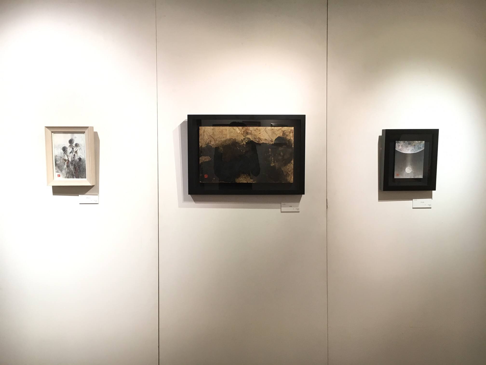 日本画八人展 Art Space-MEISEI_e0255740_20264556.jpg
