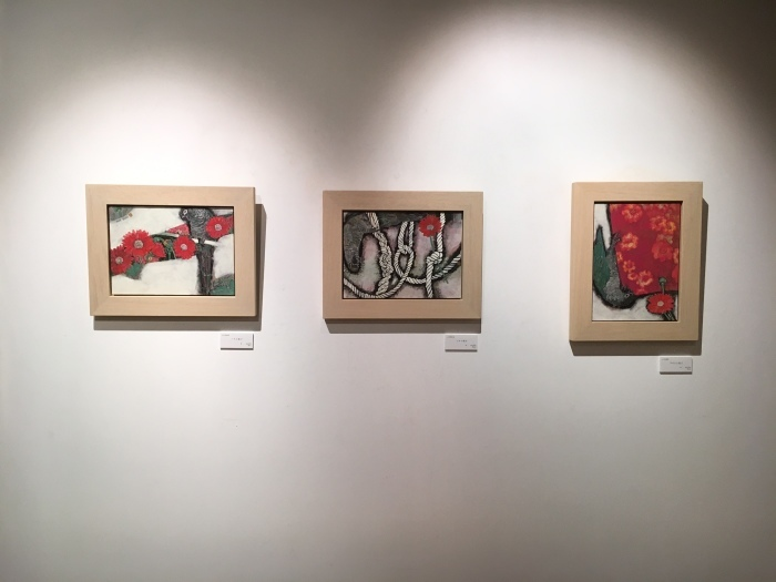 日本画八人展 Art Space-MEISEI_e0255740_20270845.jpg