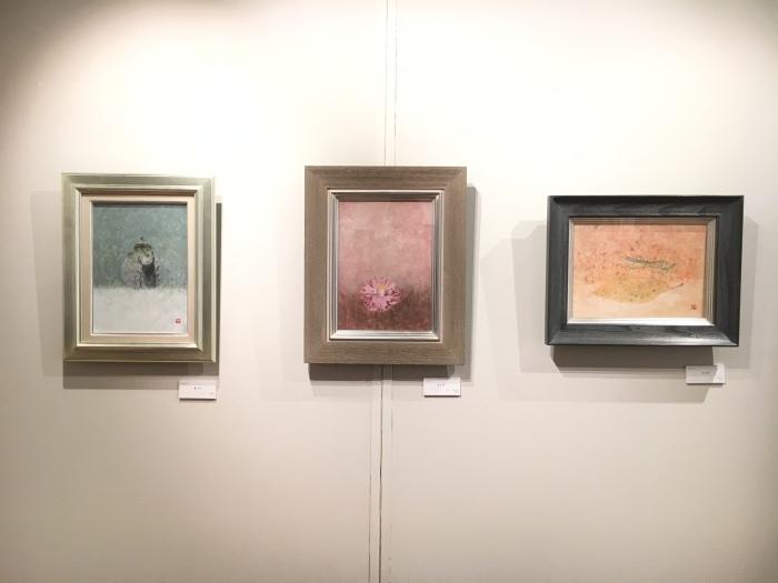 日本画八人展 Art Space-MEISEI_e0255740_20282880.jpg