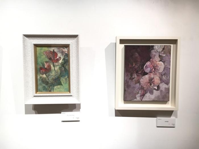 日本画八人展 Art Space-MEISEI_e0255740_20342491.jpg