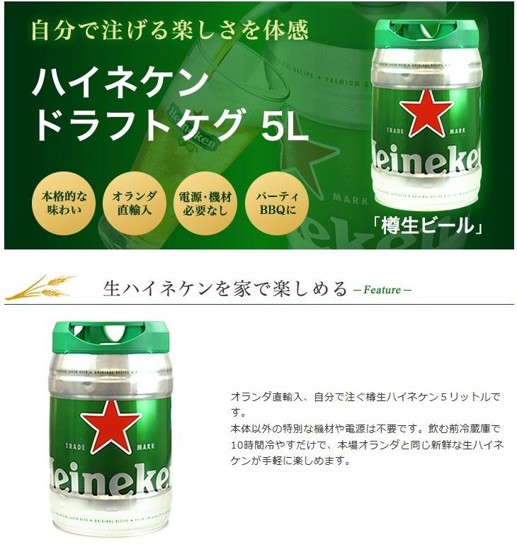 ハイネケン5リットル樽、ついに正式日本上陸!_d0061678_15200234.jpg