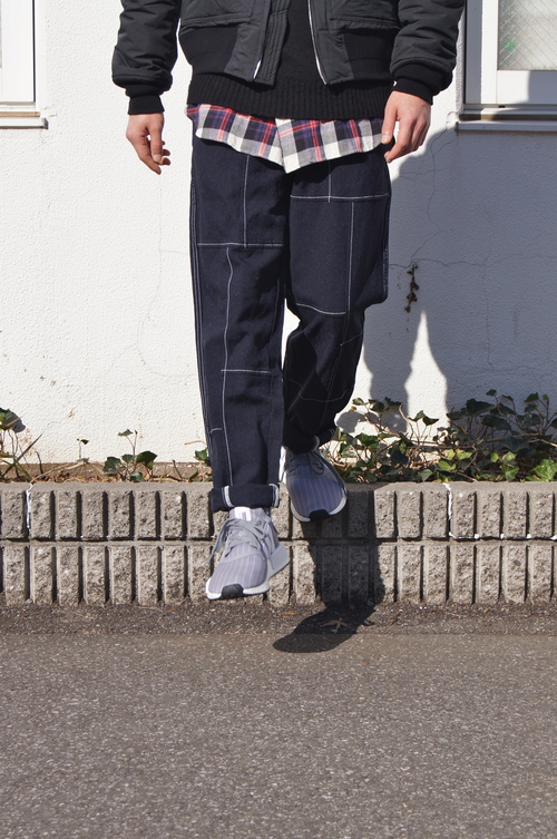UNDERPASS - MA-1 × Wide Pant._c0079892_19132685.jpg