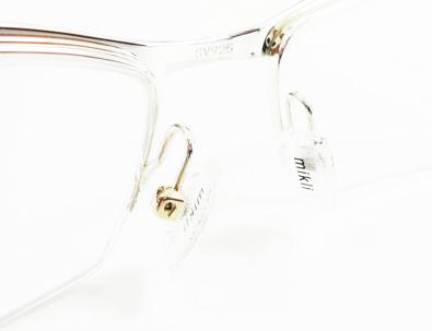 alain mikli(アランミクリ)シルバー925/14金ホワイトゴールド完全受注生産メガネフレームA00888SL ML027入荷!_c0003493_13130679.jpg