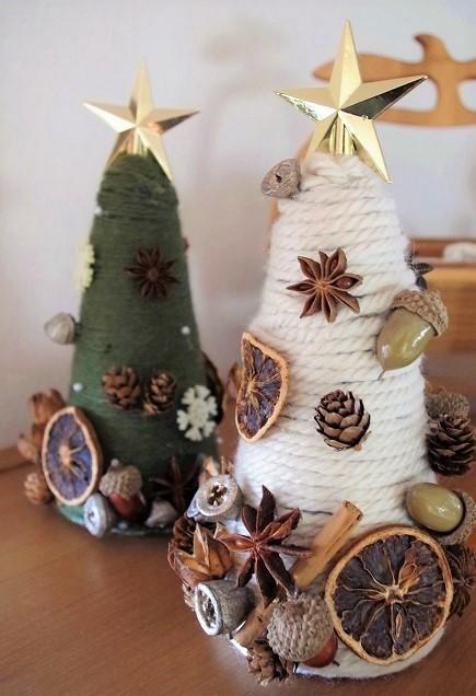 100均グッズでかわいい手作りクリスマスツリー!