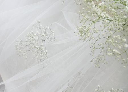 秋の装花 かすみそうの花畑の中の小さな教会とチュール高砂 ザ・ハウス白金様へ _a0042928_2216722.jpg