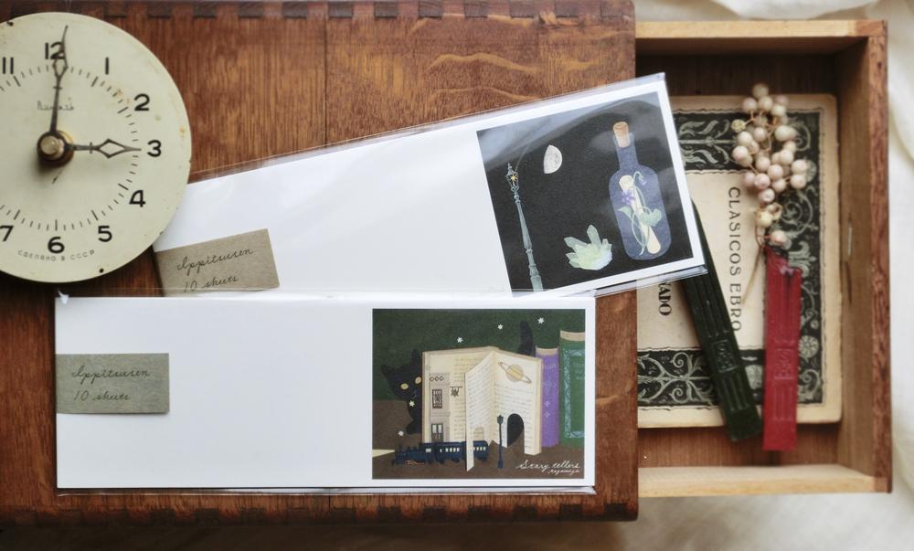 【ポケットニ彗星ヲ ーイナガキタルホをめぐるあれこれ−】出展者のご紹介 tegamiyaさん。_e0060555_12525221.jpg