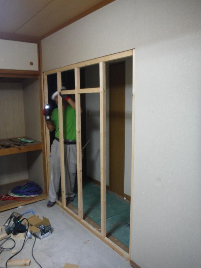 中古マンションリフォーム ~ 和室の壁工事_d0165368_111111.jpg