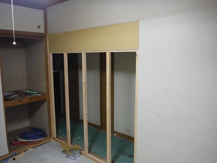 中古マンションリフォーム ~ 和室の壁工事_d0165368_1113892.jpg