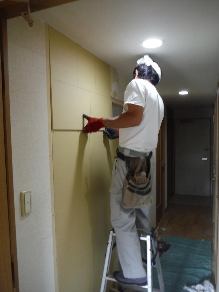 中古マンションリフォーム ~ 和室の壁工事_d0165368_112965.jpg