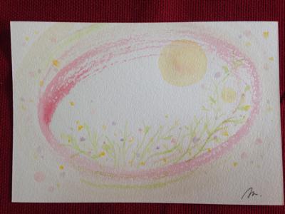 新月前のインスピアート no.2  in  モカ ***_e0290872_19234316.jpg