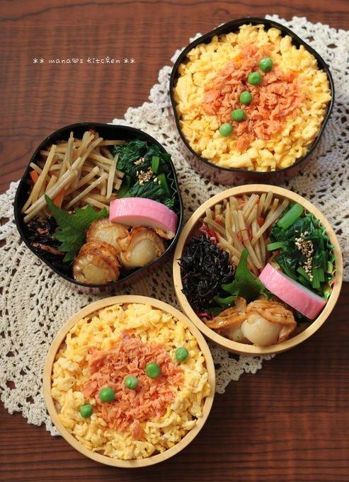 月曜鮭弁 ✿ 三枚肉野菜そば♪_c0139375_11495194.jpg