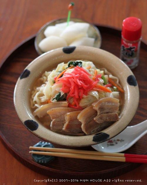 月曜鮭弁 ✿ 三枚肉野菜そば♪_c0139375_11495969.jpg