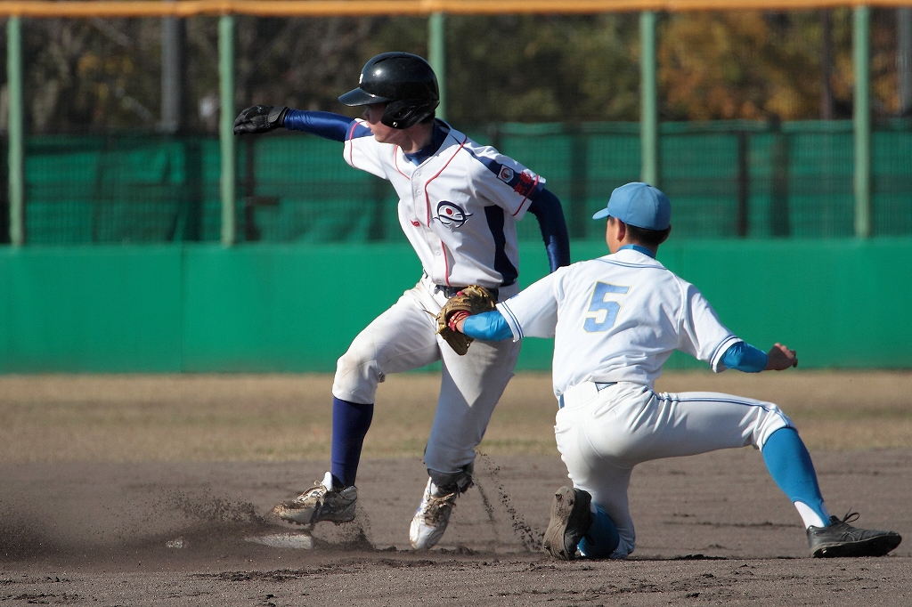 第1回日本少年野球マツダボール旗争奪3年生大会 vs二条.京丹後ボーイズ2_a0170082_1551425.jpg