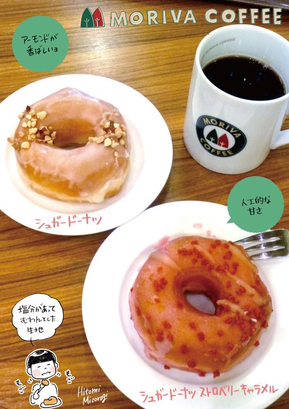 モリバコーヒーのドーナツ2種_d0272182_21310120.jpg