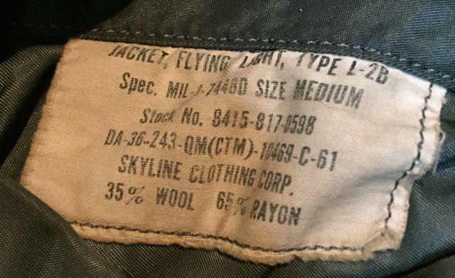 アメリカ仕入れ情報#6 60s&70s  U.S.A.F  L-2B  Jacket!_c0144020_221811.jpg