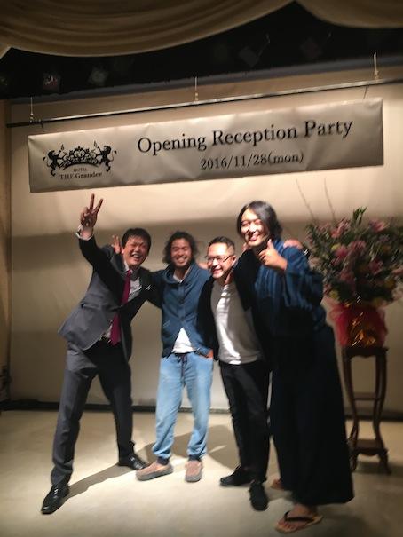 HOTEL THE Grandee Reception PARTY!!!_c0187025_14292510.jpg